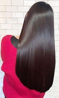 Cute Simple Hairstyles, Easy Hairstyles, Straight Hairstyles, Beautiful Long Hair, Gorgeous Hair, Simply Beautiful, Shoulder Length Hair, Shiny Hair, Hair Health