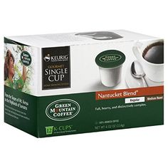 Green Mountain Coffee Nantucket Blend  KCup Portion Pack for Keurig KCup Brewers 12Count Pack of 3 -- You can find out more details at the link of the image. (This is an affiliate link and I receive a commission for the sales)