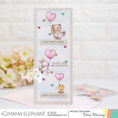 moccavanila by vera rhuhay: MAMA ELEPHANT - NOVEMBER STAMPEDE