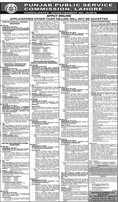 Jobs In Public Service Commision in at Government Jobs | RightJobs.pk