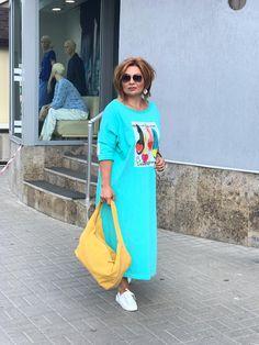 Casual Dress Outfits, Cool Outfits, Boho Fashion, Fashion Dresses, Womens Fashion, Linen Dresses, Fashion 2020, Well Dressed, Plus Size Fashion