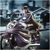 Get This Special Offer #9: Yvonne Craig 8x10 Photo Batman TV 66 Batgirl Driving Motorcycle Facing Left Houses Background Wlo