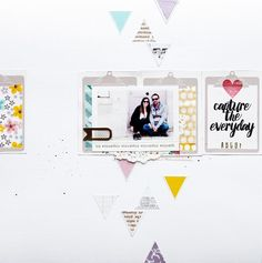 #papercrafting #scrapbook #layouts: REMEMBER by By_Laeti at @studio_calico