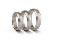 Trauringe - Wedding rings. Mokume gane Technik. Platin.Palladium.Gold. mvh - made in berlin.