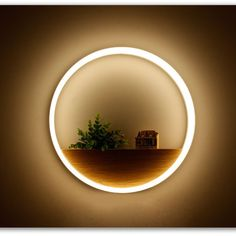 Indoor round shape creative brief LED wall lamp bedroom bedside dining room hotel room corridor warm white night light lampara Led Wall Lamp, Led Wall Lights, White Night Lights, Home Decor Hooks, Modern Hanging Lights, Inspiration Design, Unique Lamps, Bedroom Lamps, Night Lamps