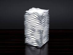 3D Printed USB Lamp Abstract Wave Design Lampshade - Desk Lamp, Desktop Lighting, Decor Desk Lamp by Edge3D on Etsy https://www.etsy.com/listing/292113547/3d-printed-usb-lamp-abstract-wave-design