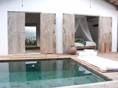 love the doors - casa lola, a rental property in trancoso, brazil via remodelista