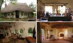 I WANT one! So adorable..... Farmer builds a house for just £150 using materials he found in skips