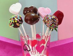 How to make Cake Pops without Cake Pop Maker #Pops #Valentine