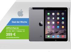 Allyouneed: iPad Air Wi-Fi & 4G mit 64 GByte (B-Ware) für 323,10 Euro https://www.discountfan.de/artikel/tablets_und_handys/allyouneed-ipad-air-wi-fi-4g-mit-64-gbyte-fuer-323-10-euro.php Das iPad Air mit WiFi und 4G ist jetzt als B-Ware mit 64 GByte Speicher für nur 323,10 Euro frei Haus zu haben – möglich macht dies ein Gutschein, der noch bis Freitag gilt. Allyouneed: iPad Air Wi-Fi & 4G mit 64 GByte für 323,10 Euro (Bild: Allyouneed.com) Das iPad Air Wi-Fi