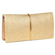 Women's Nina Ricci 'Arc' Metallic Leather Clutch ($1,180) ❤ liked on Polyvore featuring bags, handbags, clutches, bolsas, borse, beige handbags, leather clutches, leather purse, real leather handbags and metallic handbags