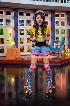 Disney Channel, Channel 2, Sou Luna Disney, Skate Party, Skater Girls, Son Luna, Shows, Roller Skating, Comfortable Fashion