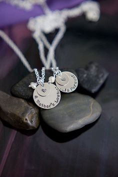 A Mother's Love Is Forever - Mother Daughter Necklace Set - For Her - For Mom - For Daughter - Christmas Gift on Etsy, $36.28