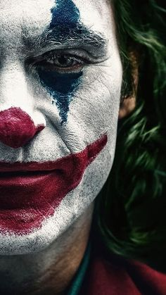 Joker 2019 Clown Makeup Joaquin Phoenix Poster HD Mobile, Smartphone and PC, Desktop, Laptop wallpaper Art Du Joker, Le Joker Batman, The Joker, Joker And Harley, Joker Cartoon, Batman City, Joker Dc Comics, Baby Batman, Gotham City