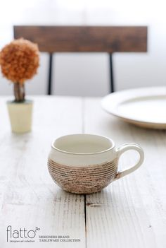 渕荒横彫コーヒーカップ/作家「古谷浩一」/和食器通販セレクトショップ「flatto」