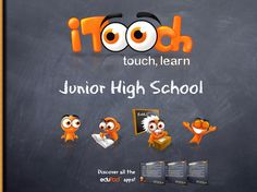 iTooch app has reading, writing & math skills that students can practice