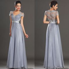 Vintage Grey With Short Sleeves Crystal 2015 Mother Of The Bride Groom Suits Dresses Evening Dress Sexy Wedding Party Gowns Full Figure Mother Of The Bride Dresses Grooms Mother Dresses From Lifetimeofhappiness, $131.73| Dhgate.Com