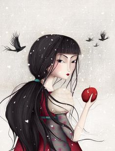 """""""Blanche neige by Sophie Lebot"""""""