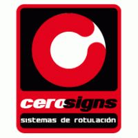 Cero Signs Logo