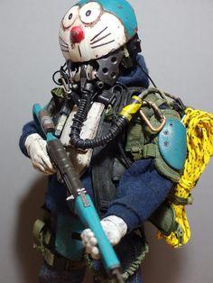 Badland Toys – This guy turns his toys into post-apocalypse version | Ufunk.net Cyberpunk, Character Concept, Character Art, Concept Art, Vinyl Toys, Vinyl Art, Sketch Inspiration, Character Inspiration, Toy Art
