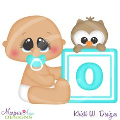 Alphabet Baby ~O~SVG-MTC-PNG plus JPG Cut Out Sheet(s) Our sets also include clipart in these formats: PNG & JPG