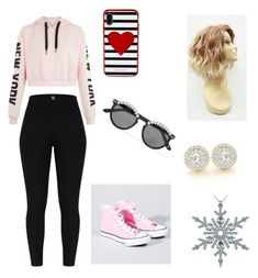 """Untitled #115"" by cazacubianca on Polyvore featuring Converse, Kate Spade and Frēda Banana"