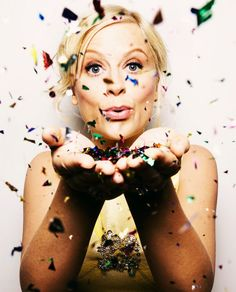 Amy Poehler is seriously like a ray of sunshine! I've always admired her, but she is definitely one of my inspirations now!