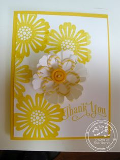 Stampin' Up! Mixed Bunch stamp set- a must have!  Blossom Punch and Perfectly Penned set