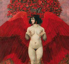 Karl Mediz - Red Angel - 1902