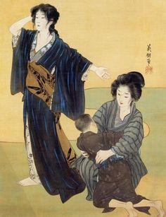 そごう美術館で「近代日本画にみる女性の美―鏑木清方と東西の美人画」展を観た(その2)!の画像 | とんとん・にっき