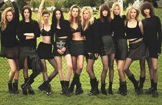 Raquel, Amanda, Saskia, Mariacarla, Daria, Lara, Meghan, Suvi, Anna, Mica And Kate By Mert And Marcus For W September 2014 1