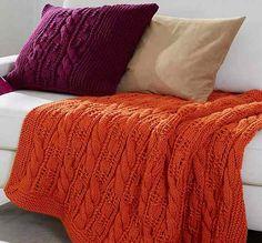 Ce tutoriel réjouira les fans de tricot : réalisez un plaid et une housse de cousin en tricot !