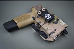The Valknut Inside-the-Waistband Custom Order Tactical Knives, Tactical Gear, Inside The Waistband Holster, Hand Cannon, Threaded Barrel, Cool Lock, Types Of Knives, Kydex Holster, Glass Breaker