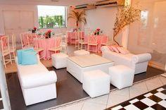 Lounges para festas de 15 anos