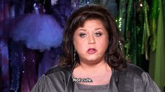 When someone asks if you got enough sleep last night:   An Abby Lee Miller Reaction For Every Occasion