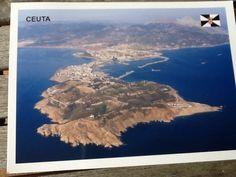 Kaart uit Spanje, Ceuta