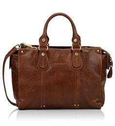 Sac shopping cuir souple Arthur & Aston marron pour femme - Galeries Lafayette