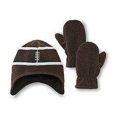 775682464195b Kmart 2013  WONDERKIDS  Touchdown Football Fleece Set Boys Accessories