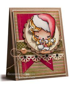 the greeting farm a cheeky christmas | ... Cheeky Christmas from The Greeting Farm, Distress Markers and