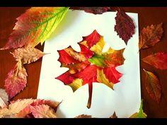 Jesienne prace plastyczne, deokracje, liść, jesień.