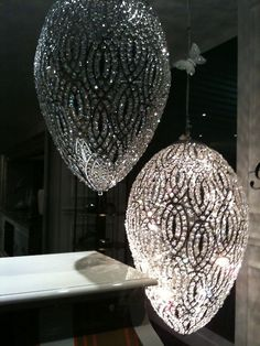 crystal chandeliers      (via esoteric-pieces-of-8)