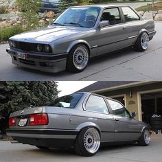 Simplicity at its finest! Bmw E30 Coupe, Bmw E30 M, Bmw Vintage, Bmw Classic, Pretty Images, Cool Cars, Dan, Motorcycles, Cars