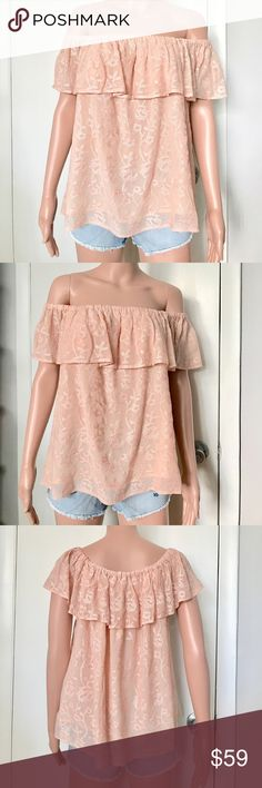 ✔️NWT Lucky Brand Off Shoulders Top Brand new with tags. Price: Fair and reasonable offer immediately accepted. Shipping: Ships within 24 hours. Lucky Brand Tops Blouses