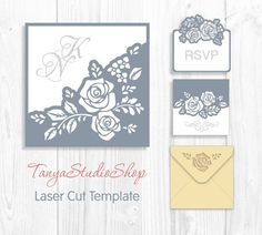 Browse unique items from TanyaStudioShop on Etsy, a global marketplace of handmade, vintage and creative goods. Kirigami, Hearts And Roses, Envelopes, Quilling Techniques, Cricut Tutorials, Silhouette Cameo Projects, Stencil, Pop Up Cards, Card Templates