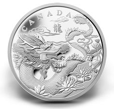 Year of the Dragon (2012) Canadian coin