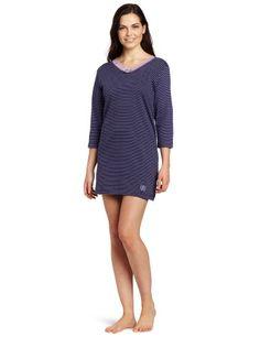 Izod Women`s Pinstripe Sleepshirt $16.00