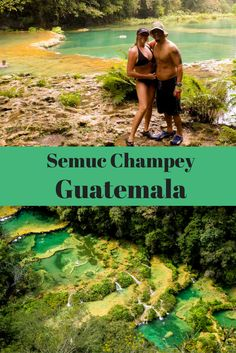 Semuc Champey is deep in the jungle of Guatemala so it's not easy to get to but it is so worth it! Imagine exploring caves like something out of the Goonies then slipping down natural water slides carved into crystal clear turquoise pools. Semuc Champey definitely is on our list for top adventures. Find out how to get there in our post. via @livedreamdiscov