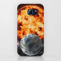 Earth-Sun-Space iPhone & iPod Case by Tbhangal Ipod Cases, Mobile Phone Cases, Framed Art Prints, Canvas Prints, Galaxy S7, Ipod Touch, Iphone 4, Planets, Smartphone