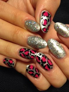 Hot leopard #nailart #nailgenius