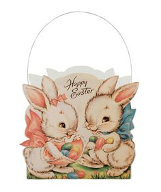 Sweet Easter Bunnies Bucket from The Holiday Barn
